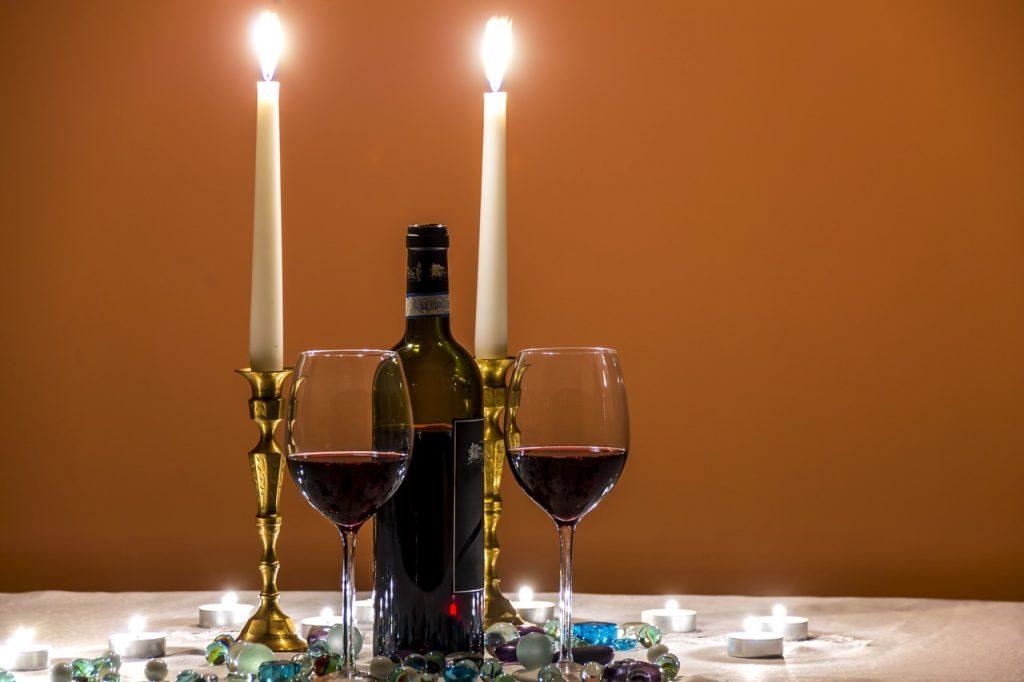 Candle Light Dinner zur Goldenen Hochzeit