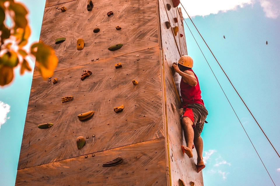 Kletterkurs als Geschenk für Mitarbeiter