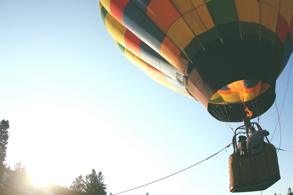 Ballonfahrt als Geschenk zur Goldenen Hochzeit